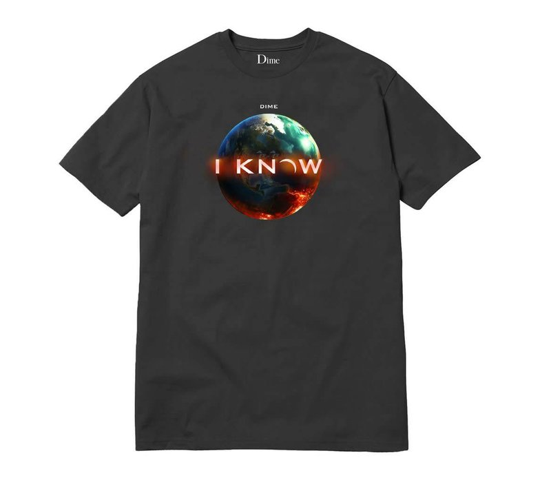 Dime I Know Tee Off-Black