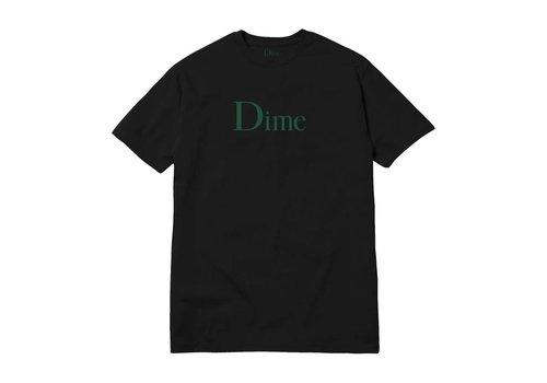 Dime Dime Classic Logo Tee Black/Green