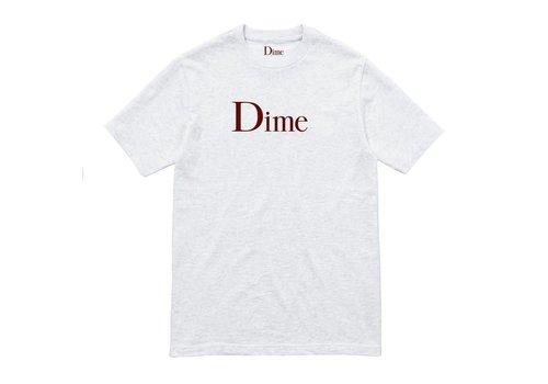 Dime Dime Classic Logo Tee Ash