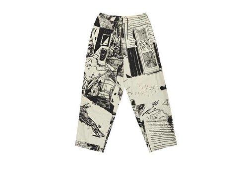 Polar Polar TK Surf Pants Ecru/Black