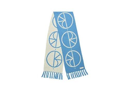 Polar Polar Stroke Logo Scarf Pool Blue 180cm x 30cm