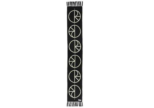 Polar Polar Stroke Logo Scarf Black 180cm x 30cm