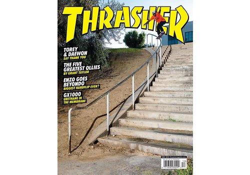 Thrasher Thrasher Magazine December 2018