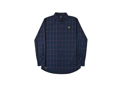 Hélas Helas Classic Carreaux Shirt Navy