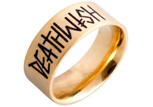 Deathwish Deathwish Deathspray Gold Ring