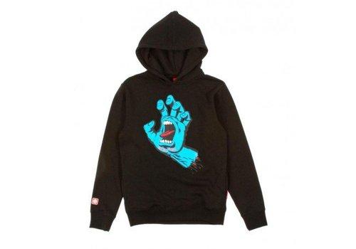 Santa Cruz Santa Cruz Youth Screaming Hand Hood Black