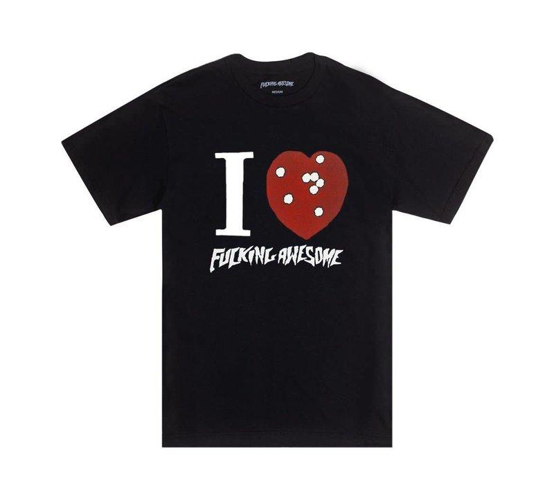 FA I Heart FA Tee Black