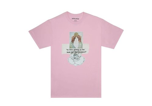 Fucking Awesome FA Bad For The Freaks Tee Pink