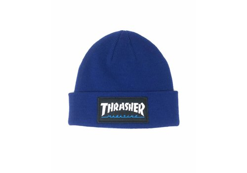 Thrasher Thrasher Logo Patch Beanie Blue