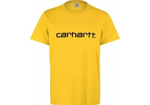 Carhartt WIP Carhartt Script Tee Primula Yellow/Black