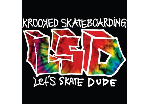 """Etnies Krooked """"LSD"""" Let's Skate Dude DVD"""