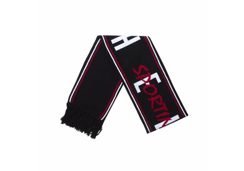 Hélas HELAS SPORTING CLUB SCARF BLACK