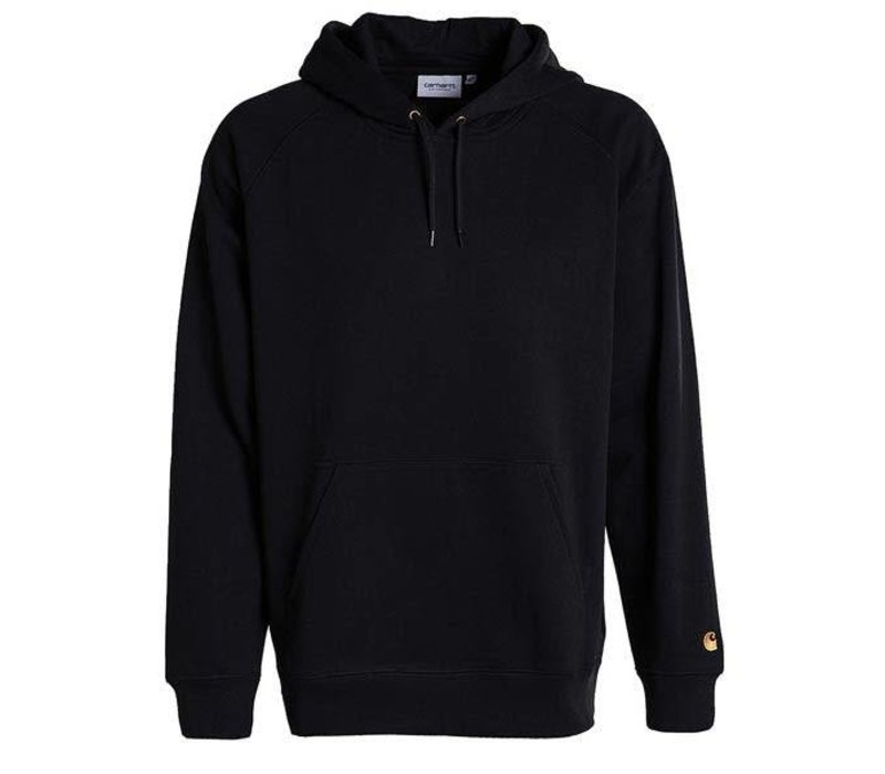 Carhartt Hooded Chase Sweat Black/Gold