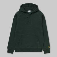 Carhartt Hooded Chase Sweat Bottle Green/Gold