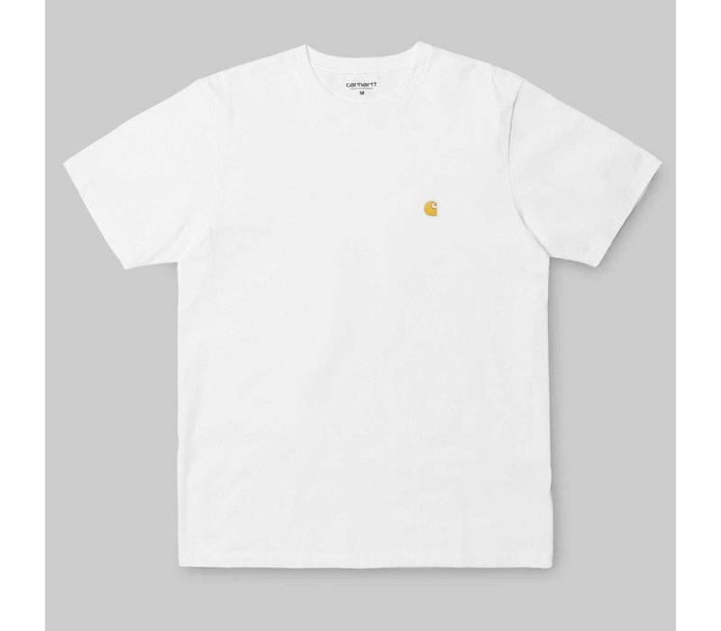 Carhartt Chase Tee White/Gold