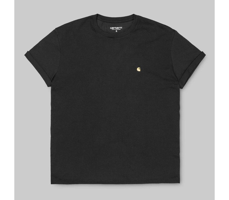 Carhartt Chase Tee Black/Gold