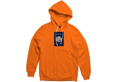 Illegal Civilization Illegal Civ Passport Hood Orange