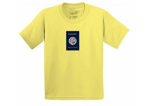 Illegal Civilization Illegal Civ Passport Tee Yellow