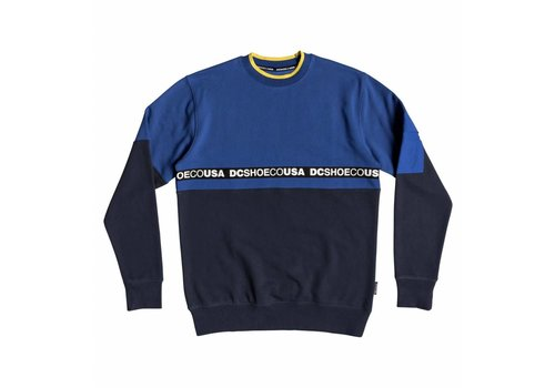 DC DC Simmons Crewneck Nautical Blue