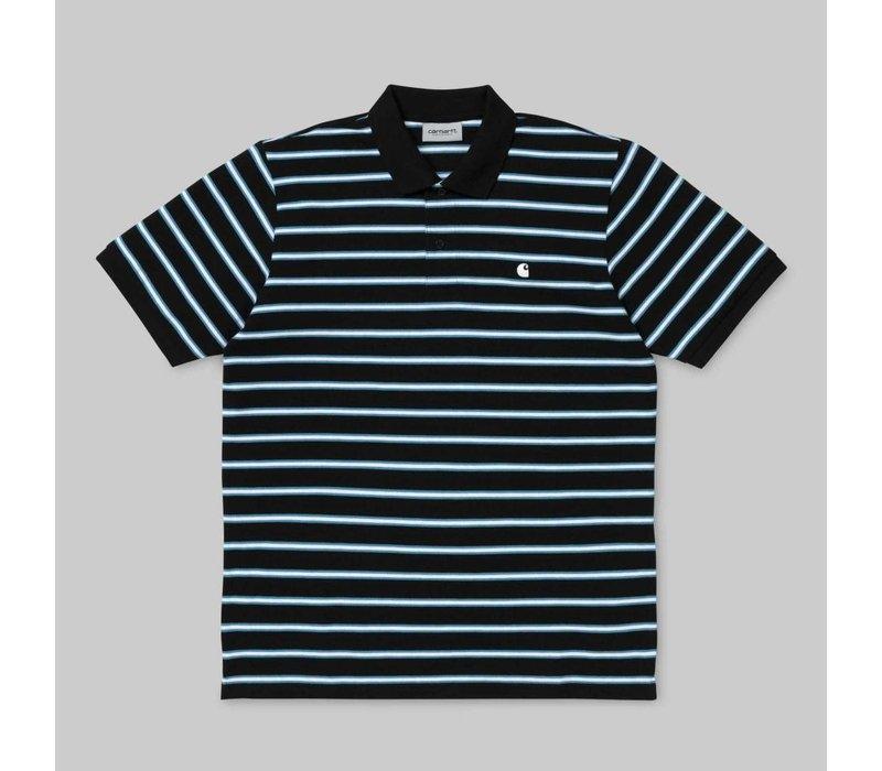 Carhartt Houston Polo Stripe Black