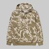 Carhartt WIP Carhartt Hooded Sweatshirt Camo Brush Sandshell/White
