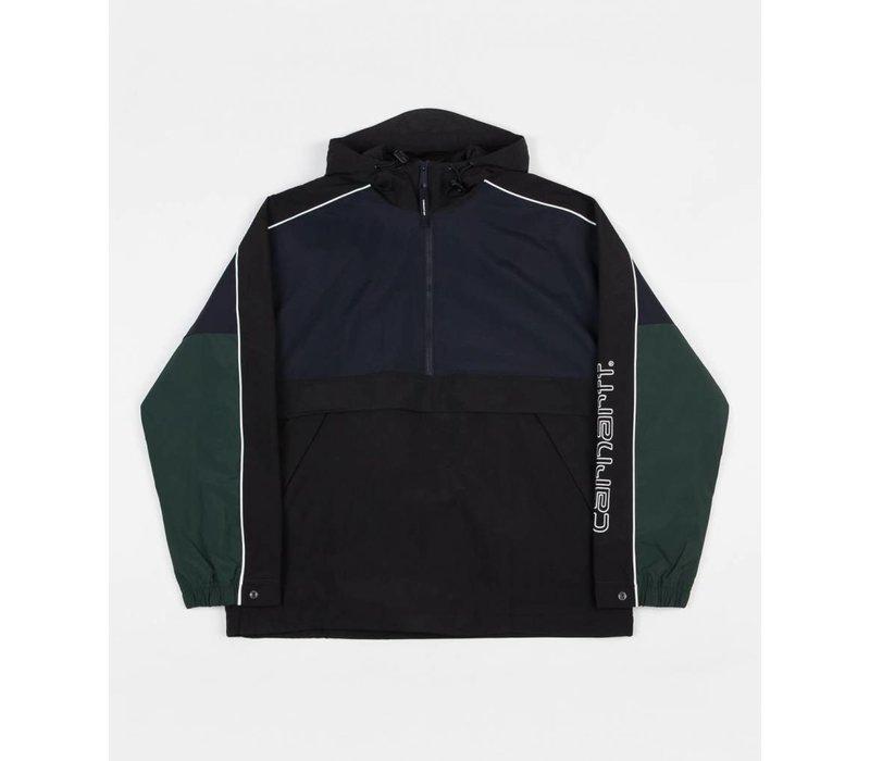 Carhartt Terrace Pullover Jacket Navy/Black/Bottle Green