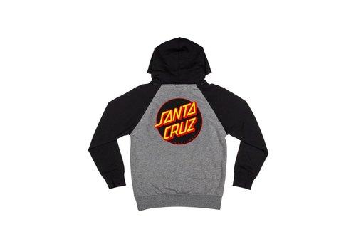 Santa Cruz Santa Cruz Youth Other Dot Hood Black/Grey