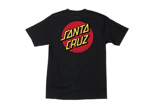Santa Cruz Santa Cruz OG Classic Dot Tee Black