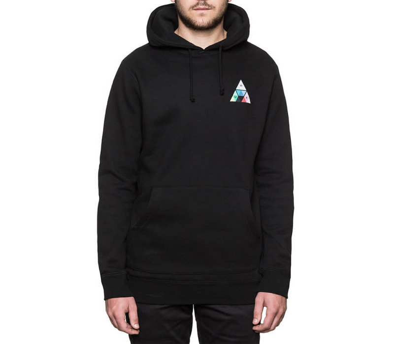 Huf Triple Triangle Prism Hood Black
