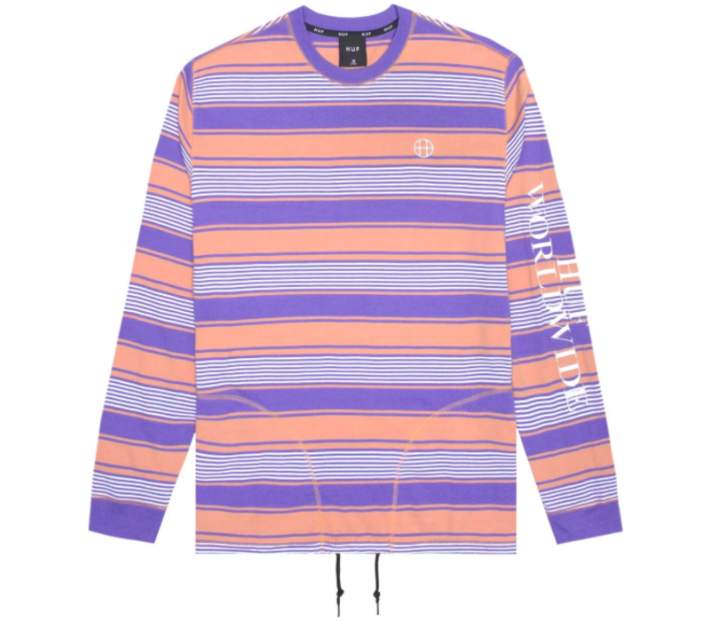 Huf Essex LS Knit Top Canyon Sunset
