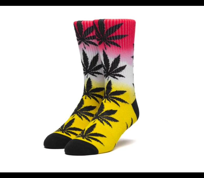 Huf Plantlife Gradient Dye Sock Aurora Yellow