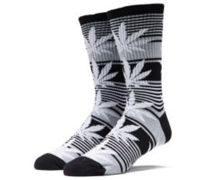 Huf Plantlife Stripe Sock Black