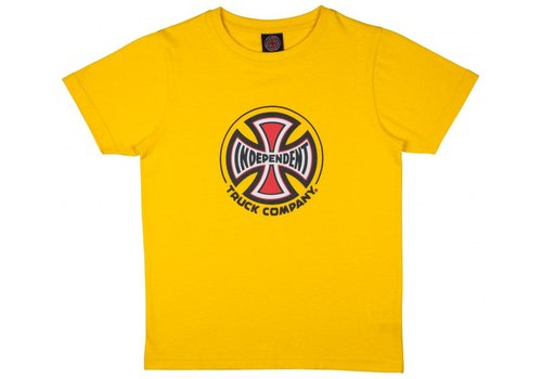 Independent Independent Youth Truck Co Tee Yellow