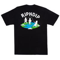 Ripndip Flat Tee Black