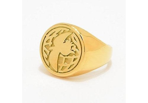 Illegal Civilization Illegal Civ Dino Gold Ring