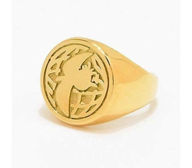 Illegal Civ Dino Gold Ring