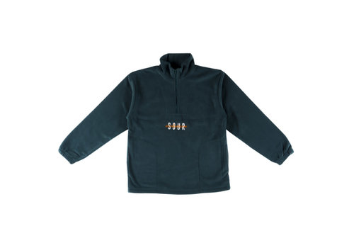 Sour Sour - Spothunter 1/4 Zip Fleece Bottle Green