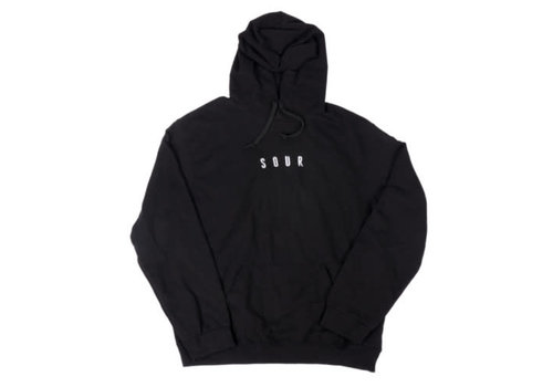 Sour Sour - Army Hooded Sweat Black