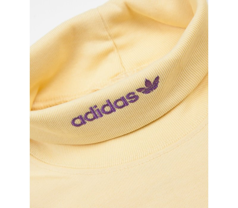 Adidas Hi Collar Longsleeve Easy Yellow/Active Purple