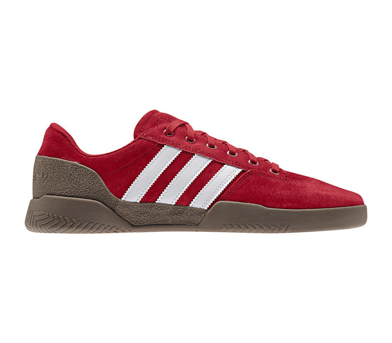 Adidas City Cup Scarlet/White/Gum