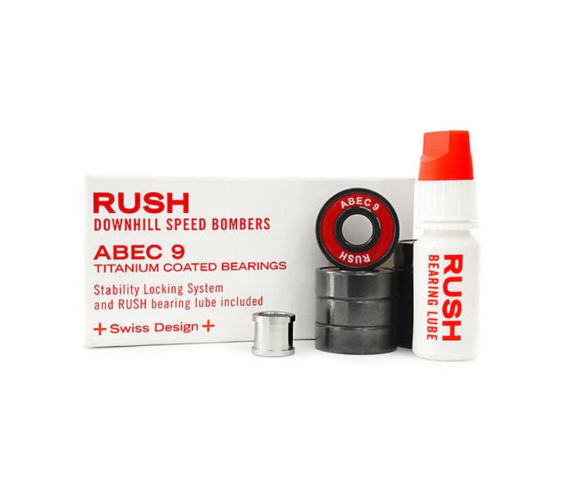 Rush Bearings - Downhill Speed Bomber Abec 9