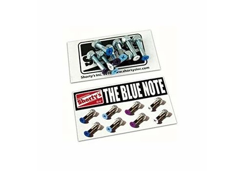 Shorty's Shorty's Color Hardware The Blue Note 1 Inch (8 Bolts)