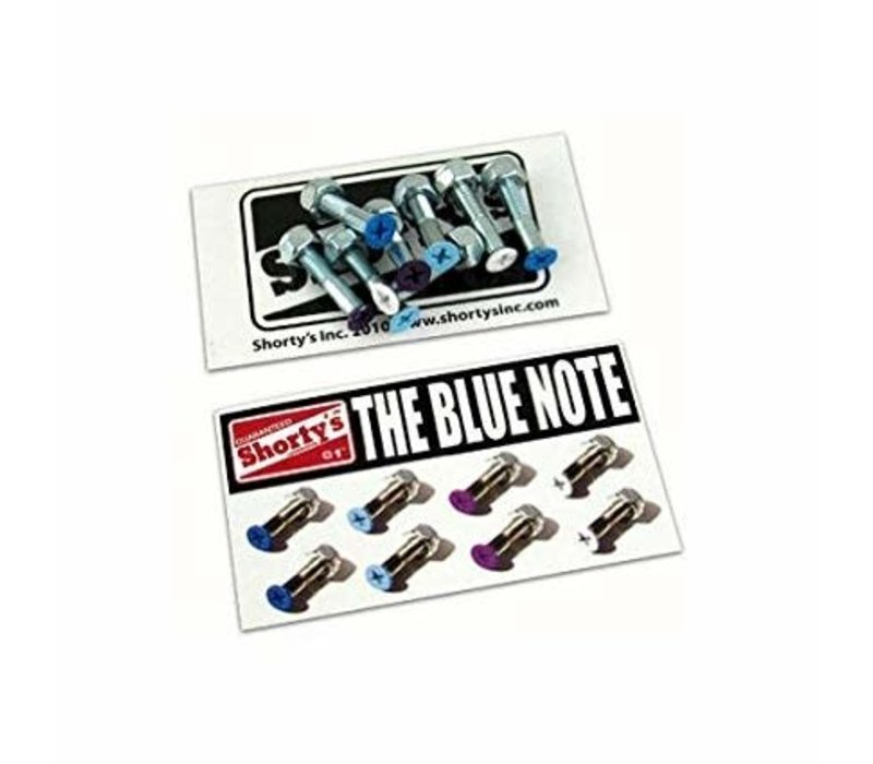 Shorty's Color Hardware The Blue Note 1 Inch (8 Bolts)
