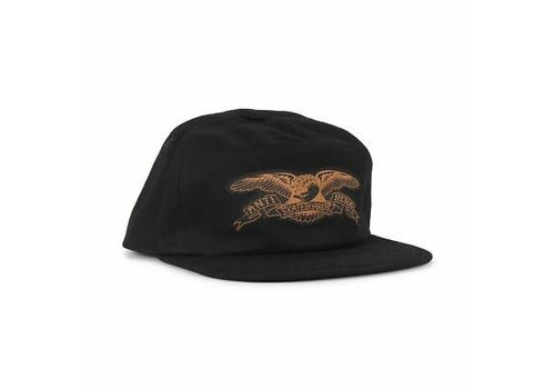 Anti Hero Anti Hero Adjustable Basic Eagle EMB Snapback Black