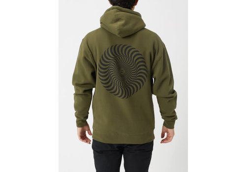 Spitfire Spitfire Classic Swirl Hood Army/Black
