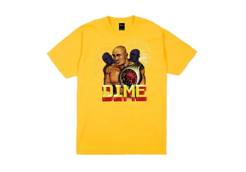 Dime Dime Duality Tee Yellow