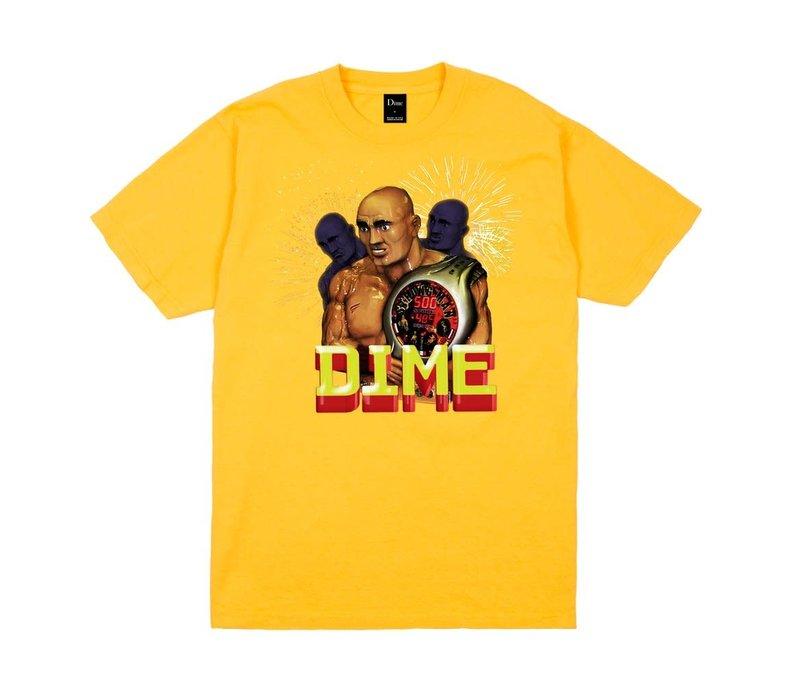 Dime Duality Tee Yellow