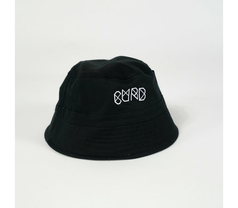 Curb Reversible Bucket Hat Black/Grey