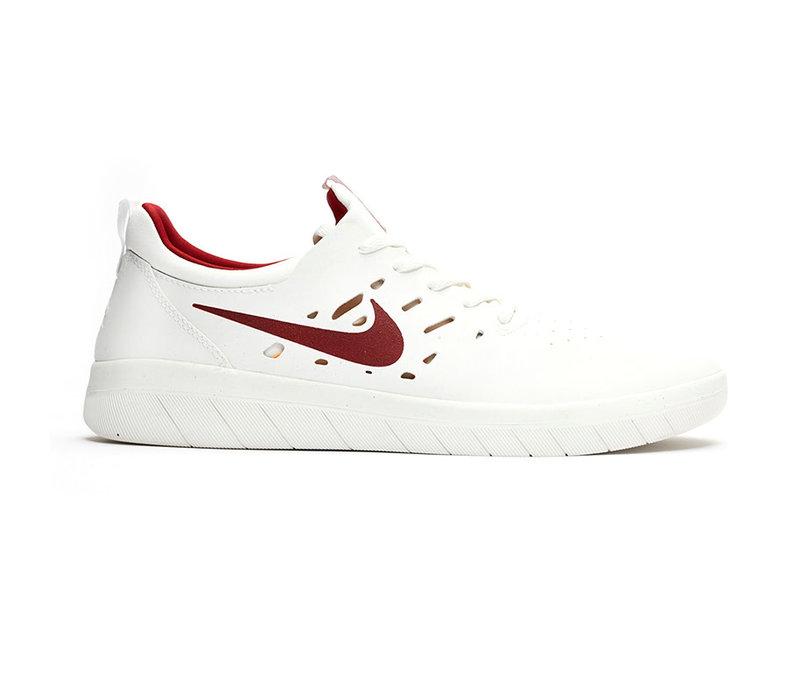 Nike Sb Nyjah Free - Summit White/Crimson