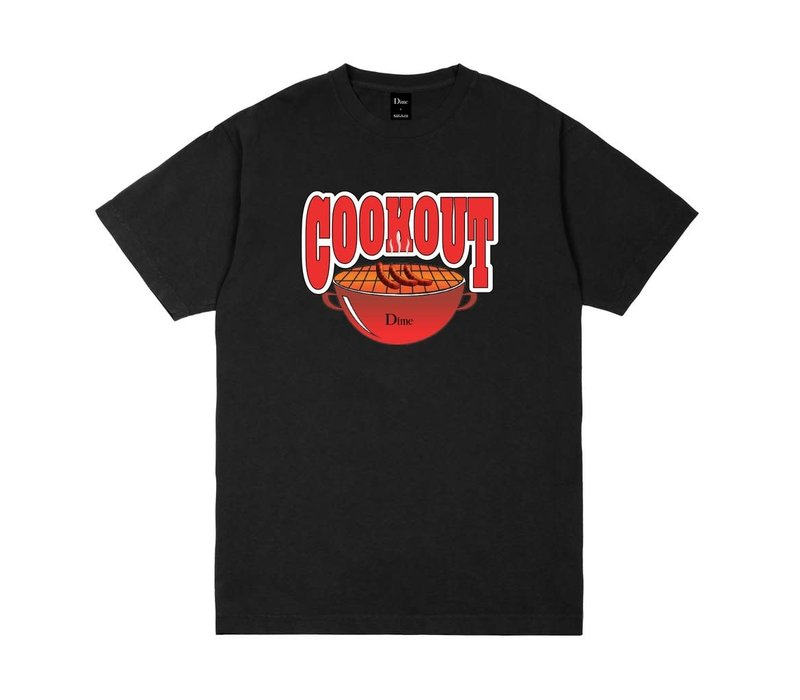 Dime Cookout Tee Black